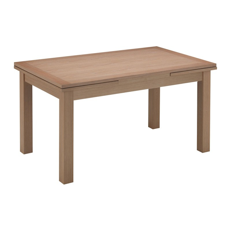 Yaron American Oak Timber Extendable Dining Table, 150 250Cm Throughout Most Recent Genao 35'' Dining Tables (View 5 of 15)