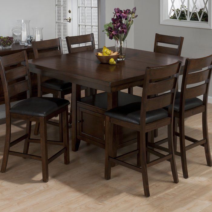 You'Ll Love The Taylor Counter Height Extendable Dining Throughout 2018 Counter Height Extendable Dining Tables (View 4 of 15)