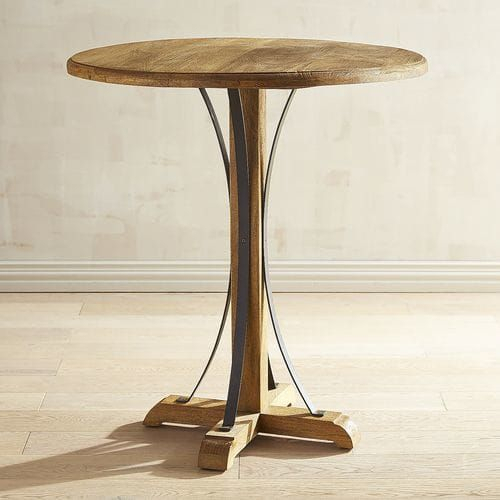 """Zach 38"""" Java Bar Table 