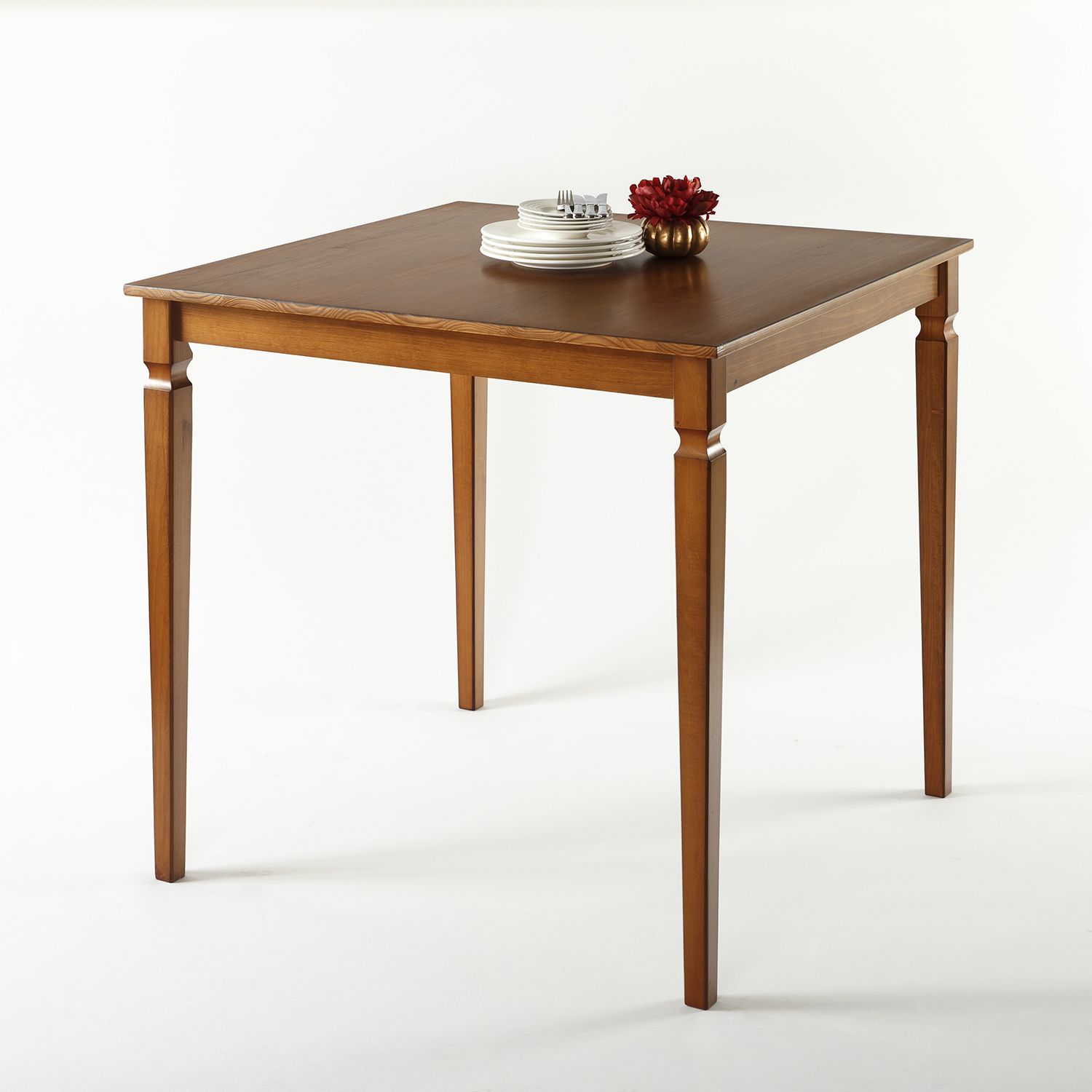 Zinus Drury Counter Height Square Wood Dining Table Inside Latest Mcmichael 32'' Dining Tables (View 8 of 15)