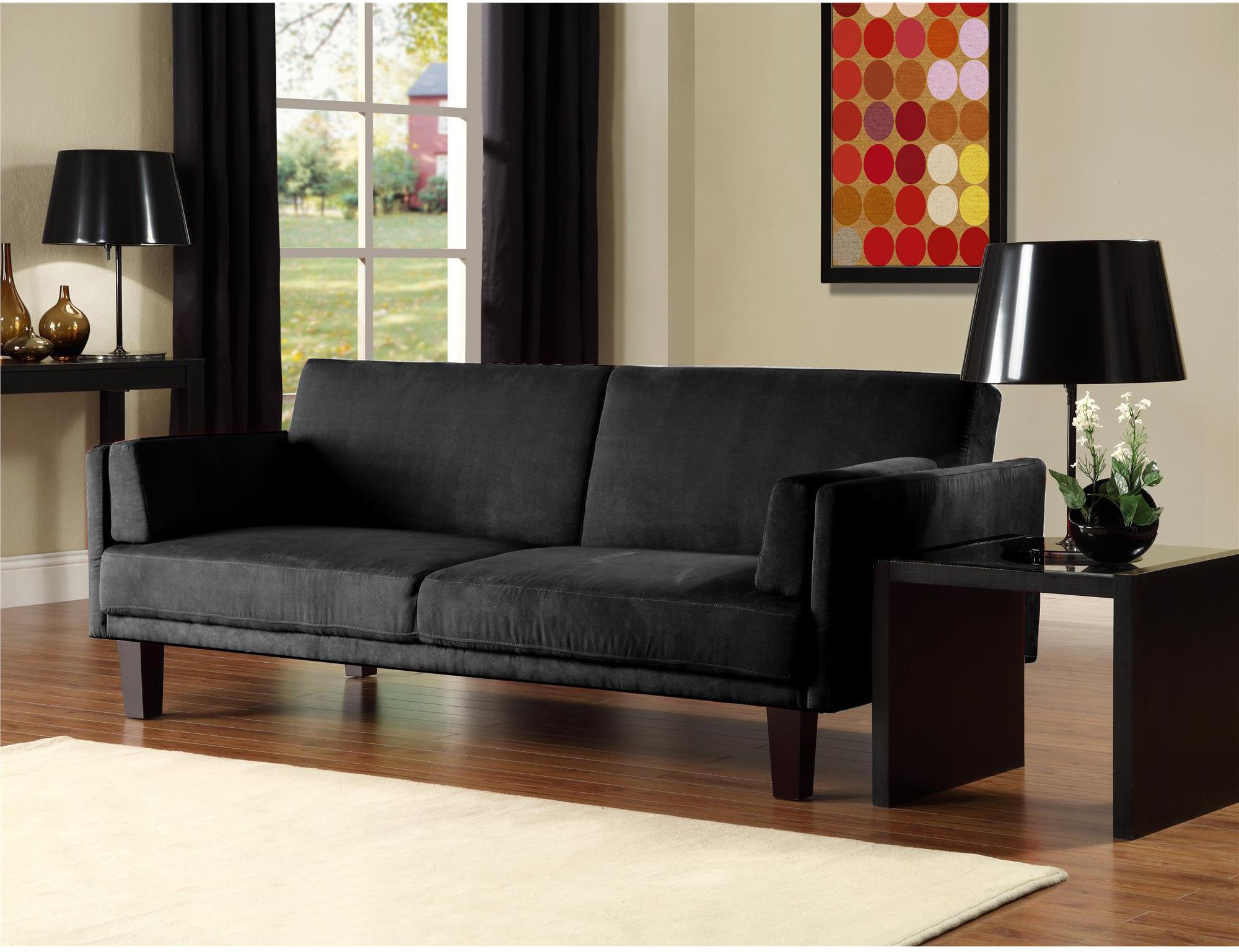 12 Affordable (And Chic) Small Sleeper Sofas For Tight Spaces In Easton Small Space Sectional Futon Sofas (View 15 of 15)