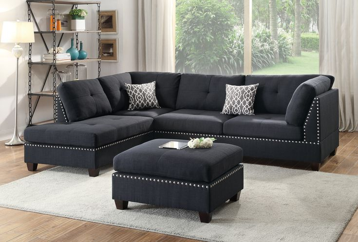 13 Photos Of 3 Piece Sectional Sofa Microfiber With Regarding Copenhagen Reversible Small Space Sectional Sofas With Storage (View 5 of 15)