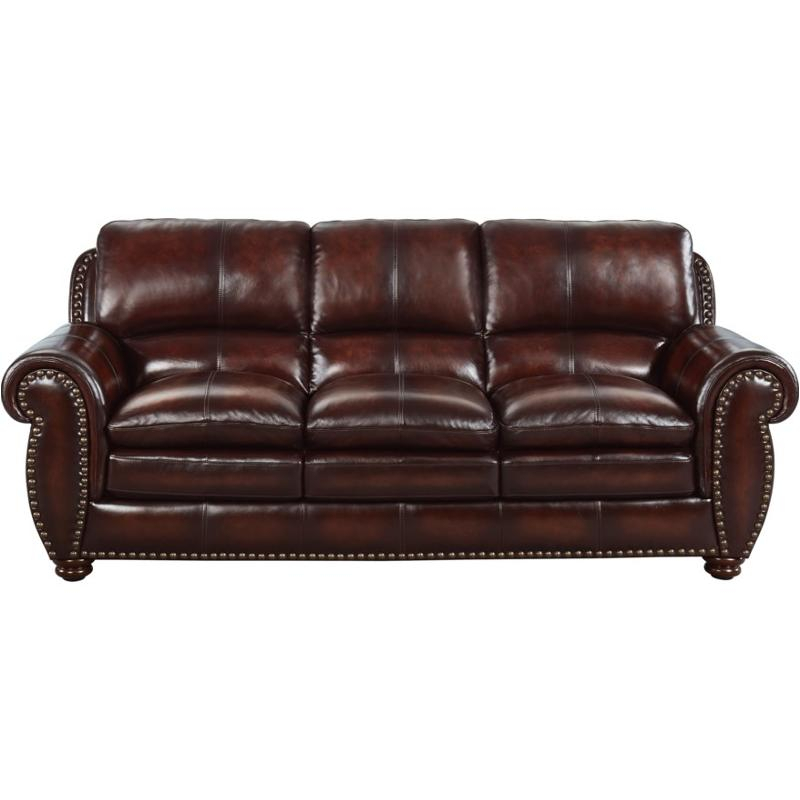 1669 2062 03L501M Leather Italia Aspen Living Room Sofa With Aspen Leather Sofas (View 8 of 15)