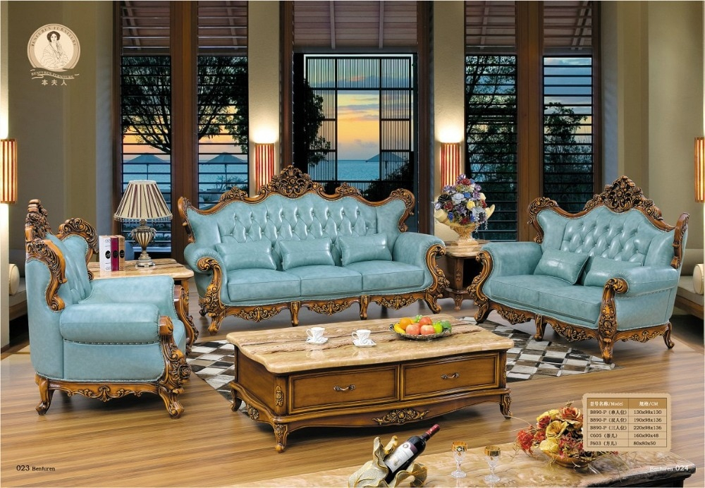 2016 No Promotion Chaise Hot Sale European Style Set Within Old Fashioned Sofas (View 9 of 15)