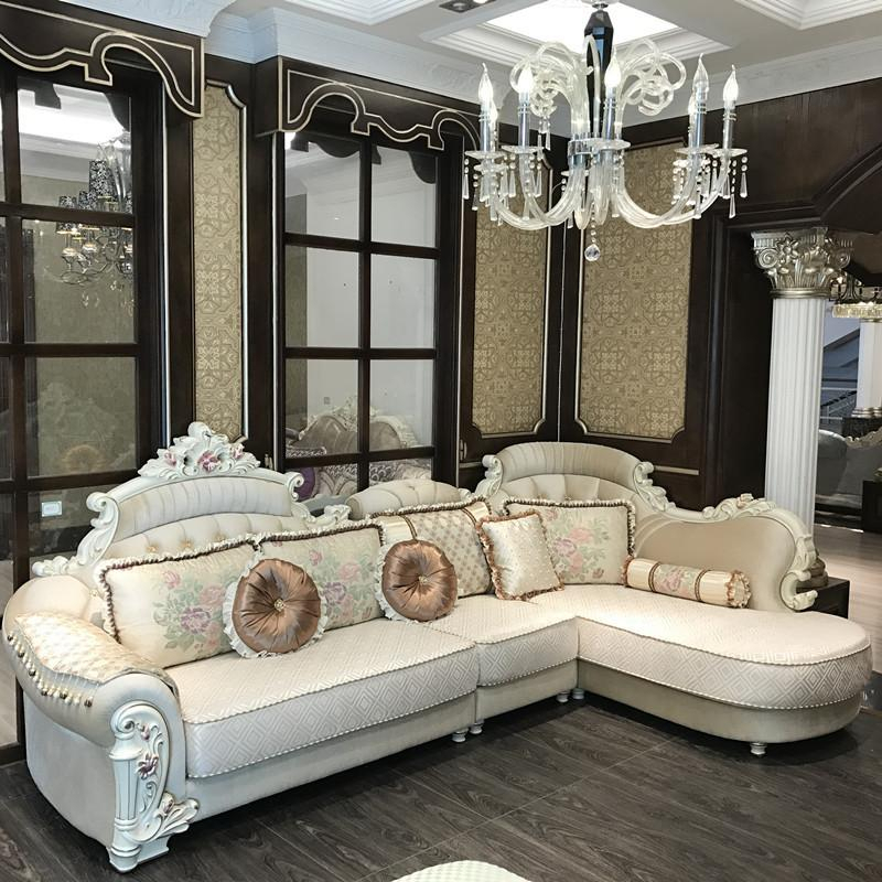 2019 European Luxury Living Room Sofa Set Furniture From With Sofa Chairs For Living Room (View 7 of 15)