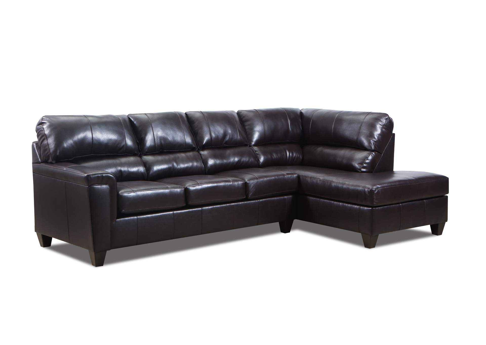 2038 Montego Two Piece Sectional With Raf Bump Chaise Within Walker Gray Power Reclining Sofas (View 9 of 15)