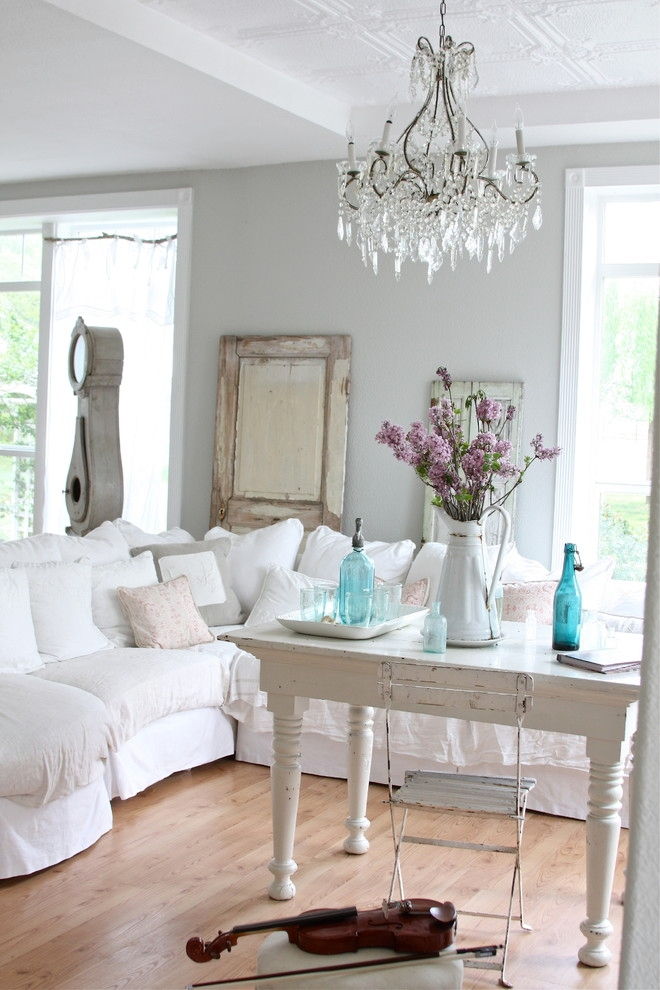 21+ Shabby Chic Furniture Ideas, Designs, Plans, Models In Shabby Chic Sofas (View 4 of 15)