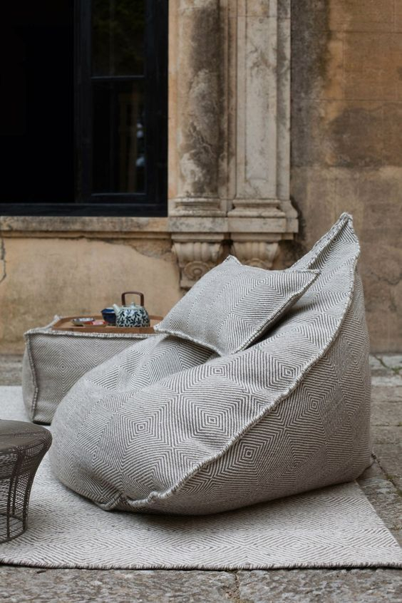 25 Bean Bag Chairs For Indoors And Outdoors – Digsdigs Within Bean Bag Sofas And Chairs (Photo 15 of 15)