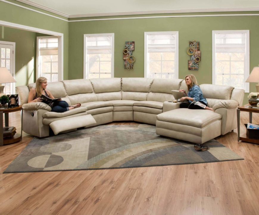 25 Contemporary Curved And Round Sectional Sofas Within Circular Sofa Chairs (View 13 of 15)