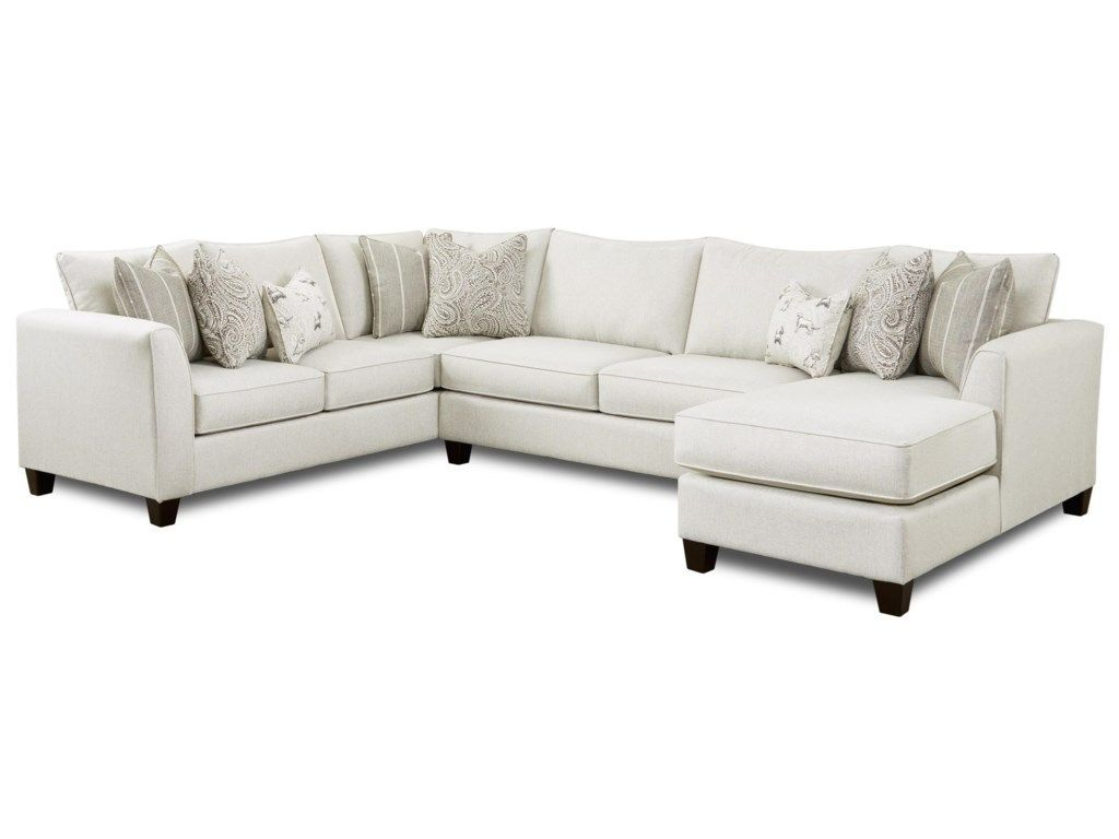 28 3 Piece Sectional With Right Chaisefusion Furniture Inside Copenhagen Reclining Sectional Sofas With Right Storage Chaise (View 15 of 15)