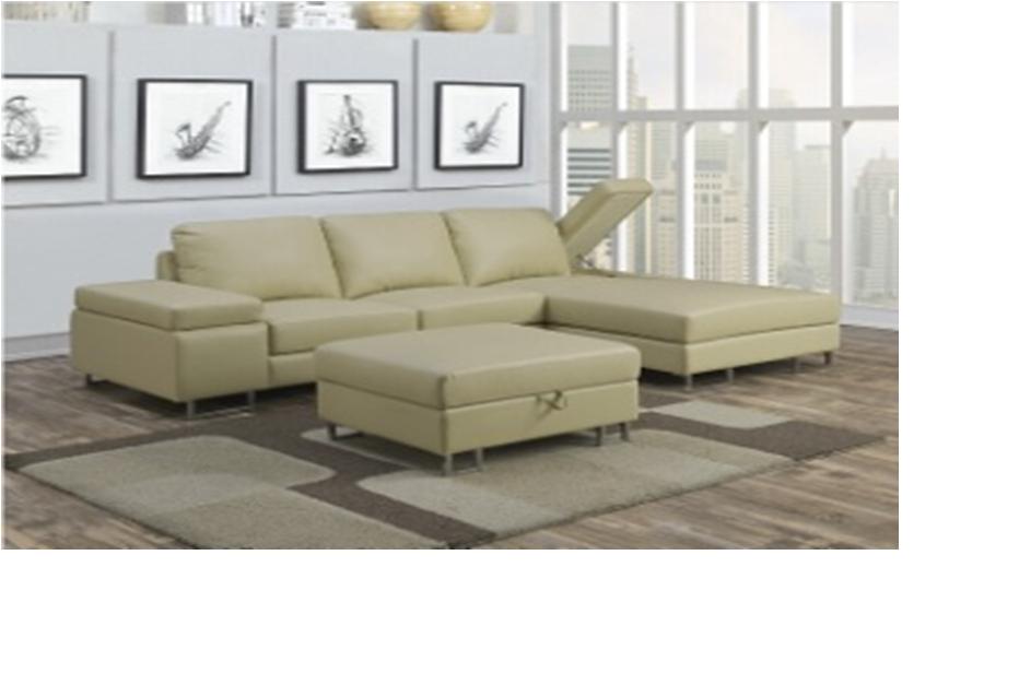 2Pc Storage Sofa/Chaise End Plus Bonus Free Ottoman, Ulta Within 2Pc Burland Contemporary Chaise Sectional Sofas (View 13 of 15)