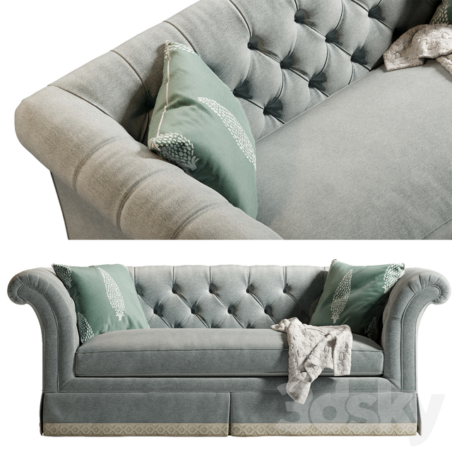 3D Models: Sofa – Lexington Charleston Sofa With Charleston Sofas (View 10 of 15)
