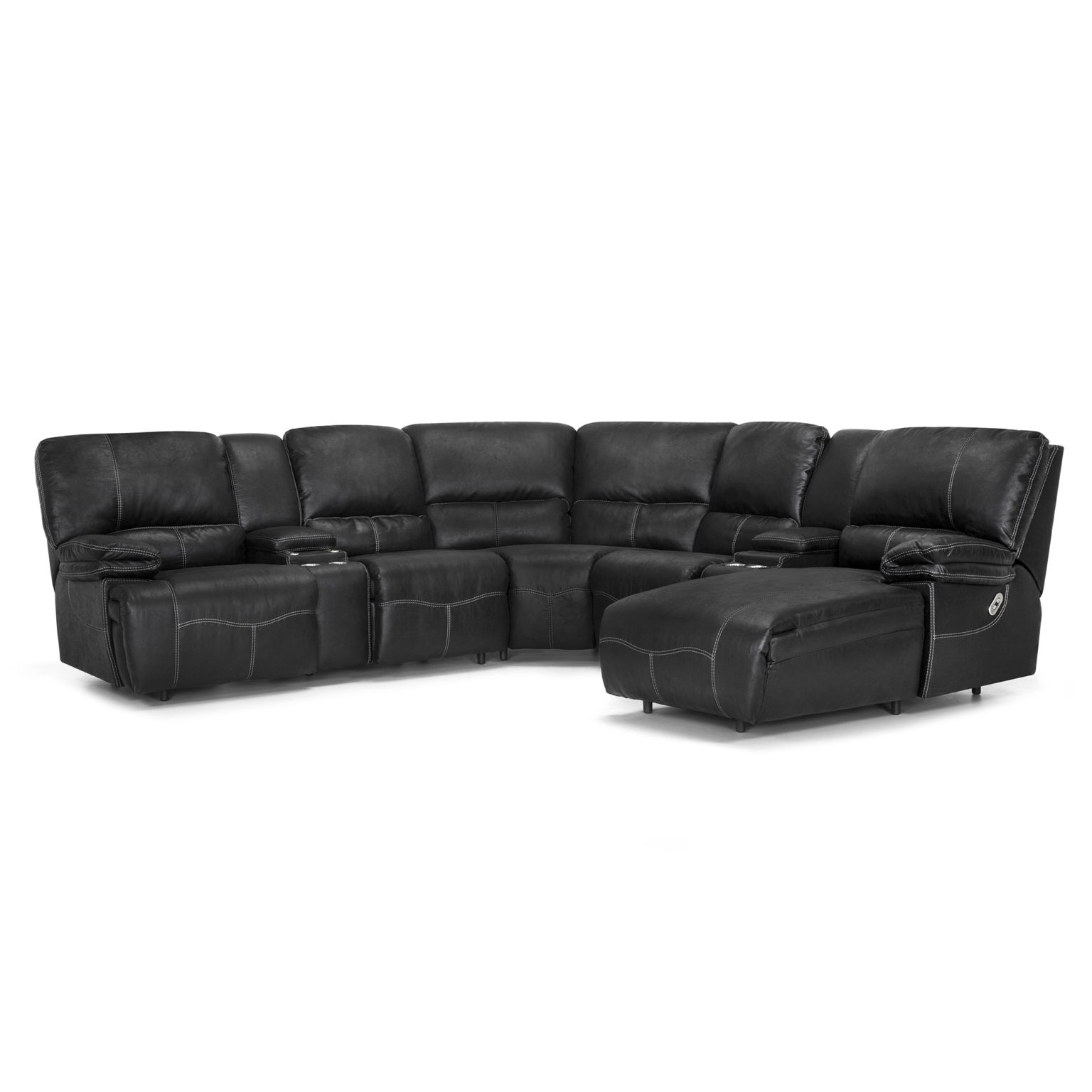 440 Brayden Sectional – Franklin Corporation Inside Colby Manual Reclining Sofas (View 2 of 15)