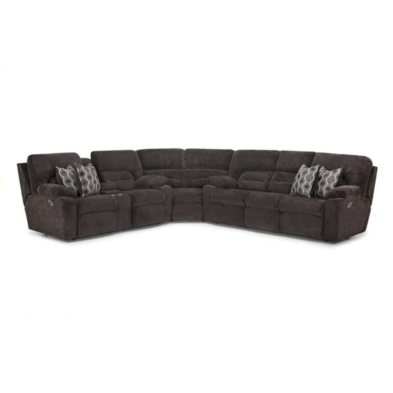 440 Brayden Sectional – Franklin Corporation Throughout Colby Manual Reclining Sofas (View 13 of 15)