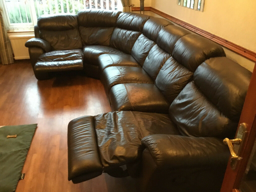 6 Seater Leather Sofa Combo (View 13 of 15)