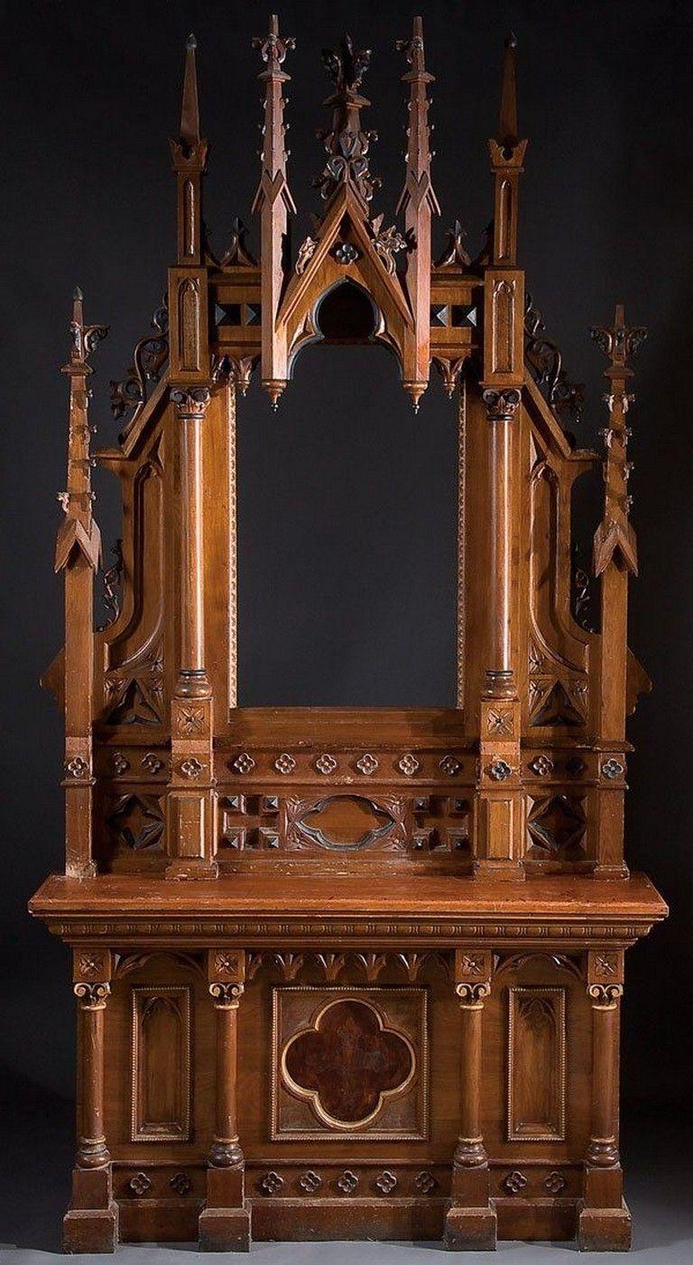 70++ Amazing Home Gothic Decor Design Ideas To Create Inside Gothic Sofas (View 11 of 15)