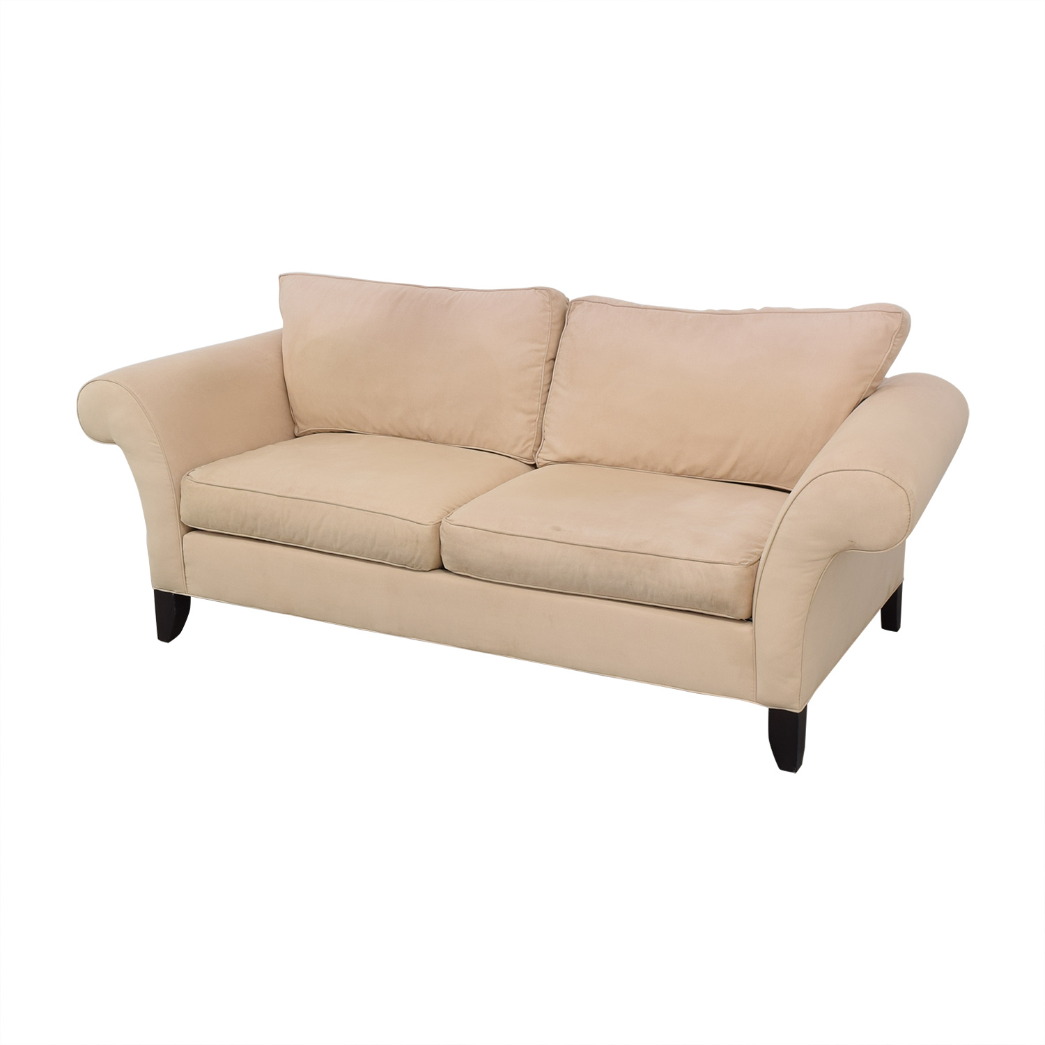 89% Off – Ethan Allen Ethan Allen Roll Arm Sofa / Sofas Intended For Ethan Allen Sofas And Chairs (View 13 of 15)