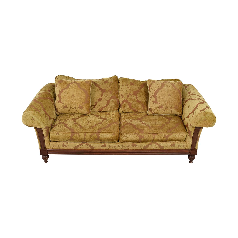 90% Off – Ethan Allen Ethan Allen Beige Pratt Sofa / Sofas In Ethan Allen Sofas And Chairs (View 9 of 15)