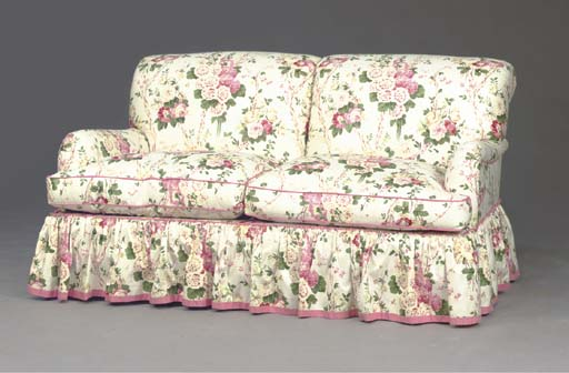 A Contemporary Floral Chintz Covered Sofa, , Modern Intended For Chintz Covered Sofas (View 3 of 15)