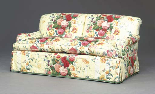 A Contemporary Floral Chintz Covered Sofa, , Modern With Regard To Chintz Covered Sofas (View 1 of 15)
