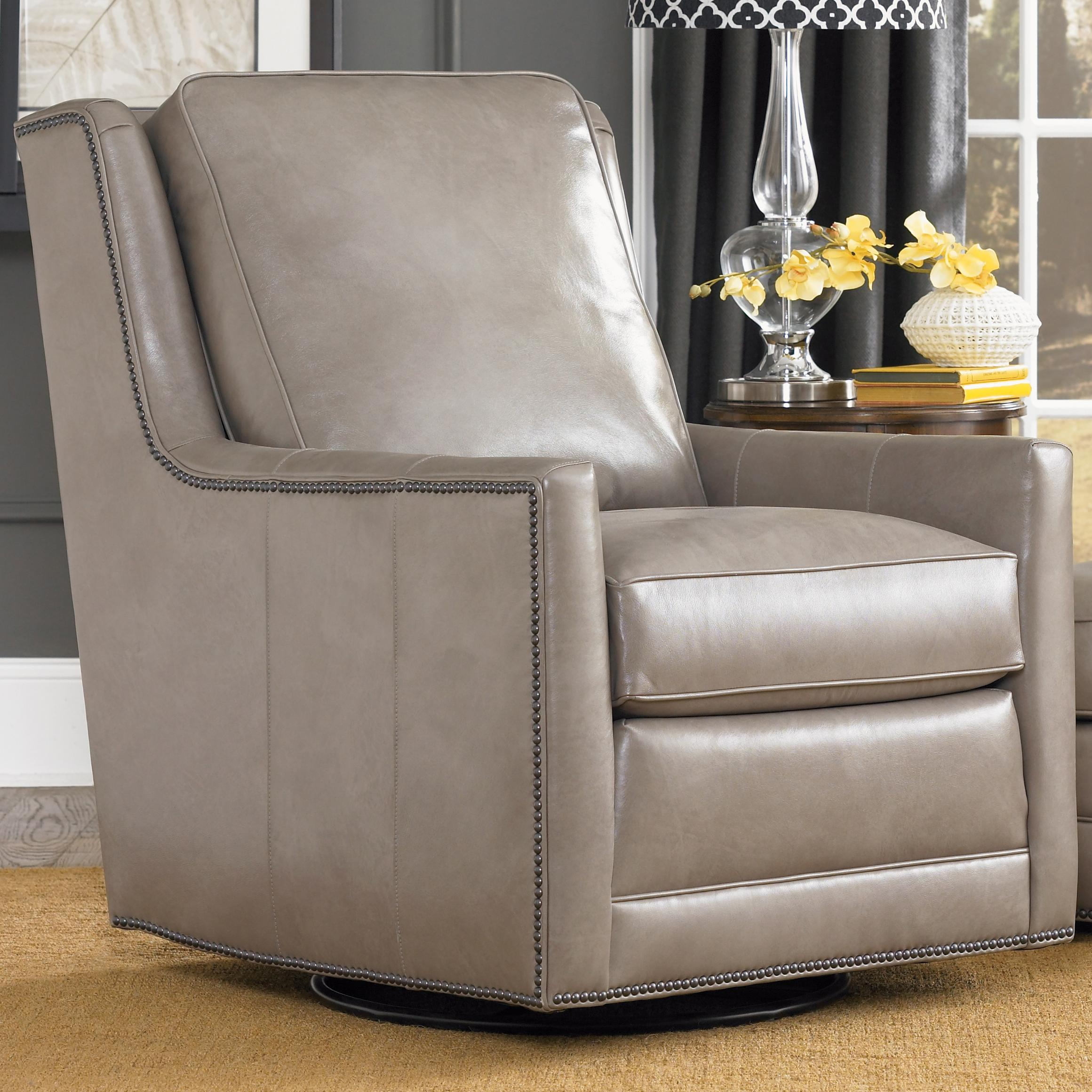 Accent Chairs And Ottomans Sb Transitional Swivel Chair Regarding Swivel Sofa Chairs (View 4 of 15)