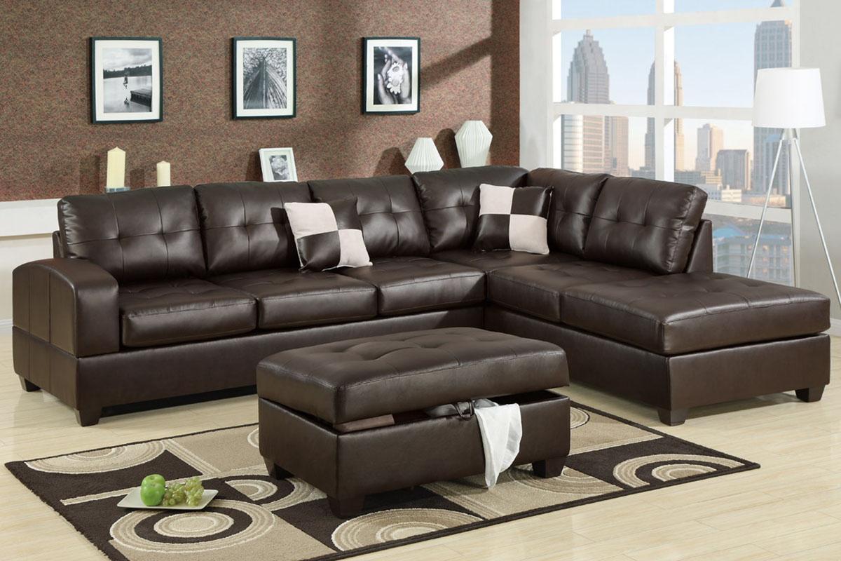 Admirable 2 Piece Sectional Sofas With Chaise Flooding Inside 4Pc Crowningshield Contemporary Chaise Sectional Sofas (View 5 of 15)