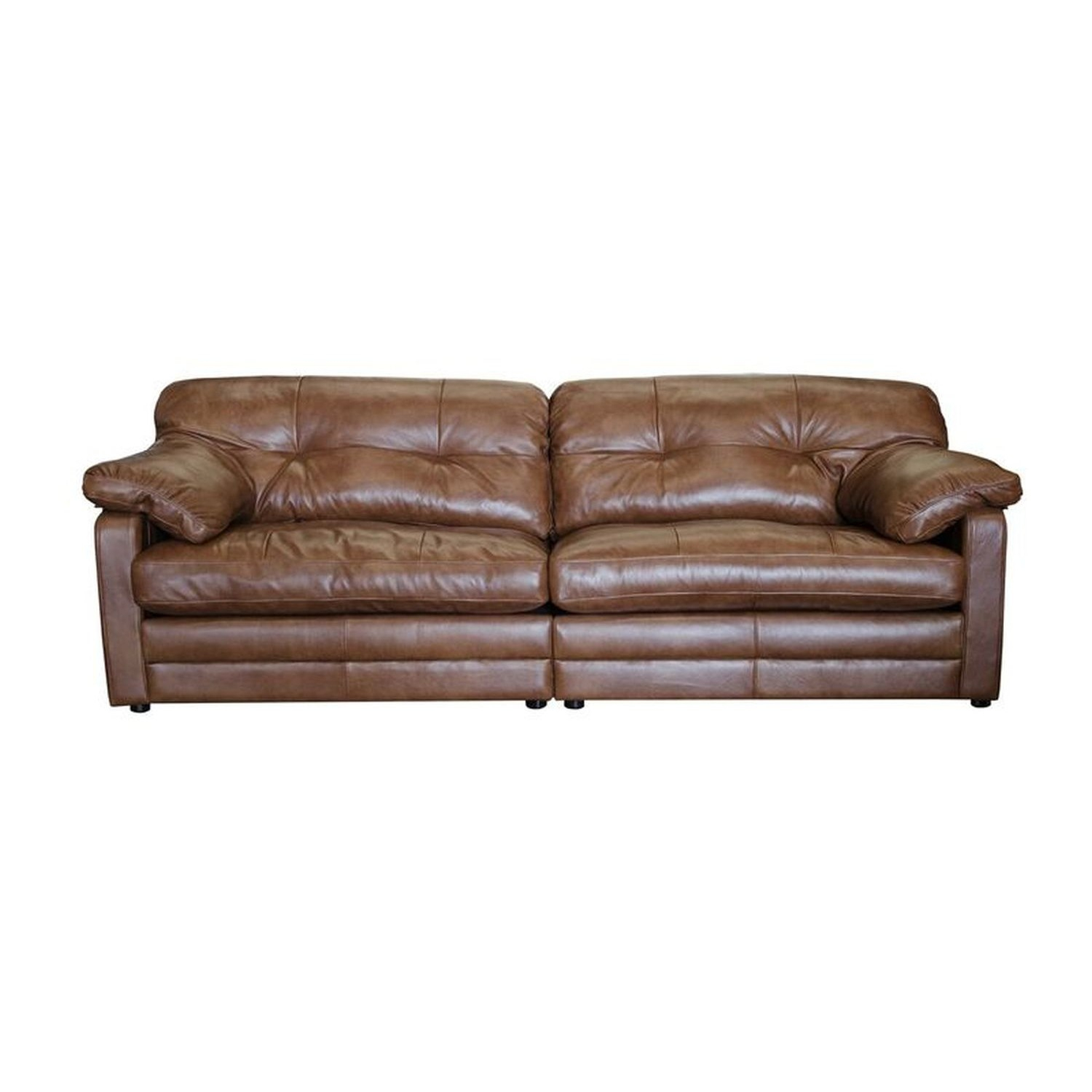 Alexander & James Bailey 4 Seater Split Leather Sofa With Regard To 4 Seat Leather Sofas (View 13 of 15)