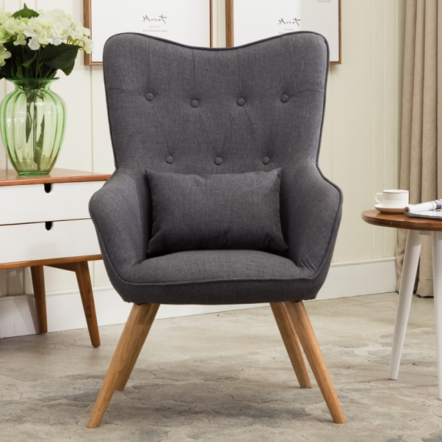 Aliexpress : Buy Mid Century Modern Style Armchair In Sofa Arm Chairs (View 14 of 15)