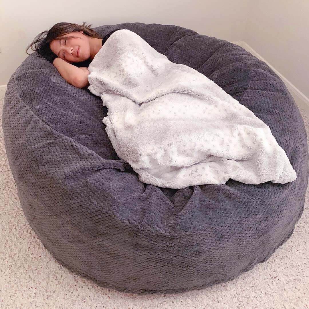 Amazing And Comfortable Bean Bag Chair Designs For Bean Bag Sofas And Chairs (View 3 of 15)