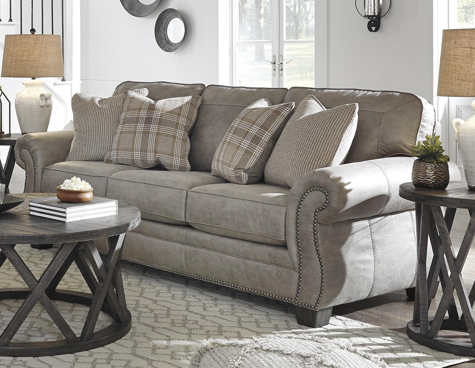 American Design Furnituremonroe – Aspen Leather Sofa In Aspen Leather Sofas (View 3 of 15)
