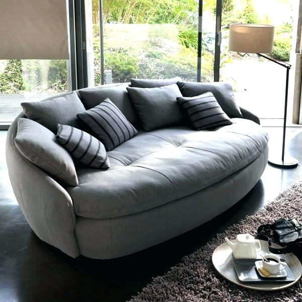 An Overview Of Round Loveseat Chair – Topsdecor Intended For Circular Sofa Chairs (View 11 of 15)