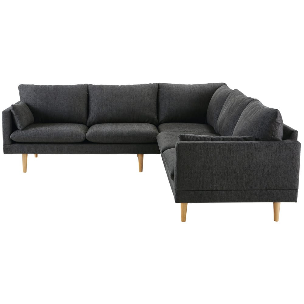 Anthracite Grey 5 Seater Modular Corner Sofa Collins With Modular Corner Sofas (View 10 of 15)