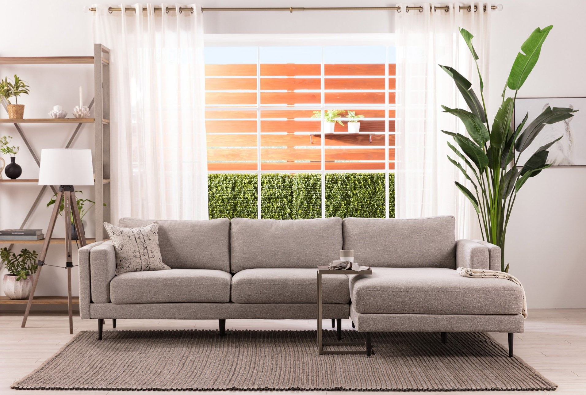 Aquarius Light Grey 2 Piece Sectionals With Laf Chaise Throughout 2Pc Crowningshield Contemporary Chaise Sofas Light Gray (View 8 of 15)