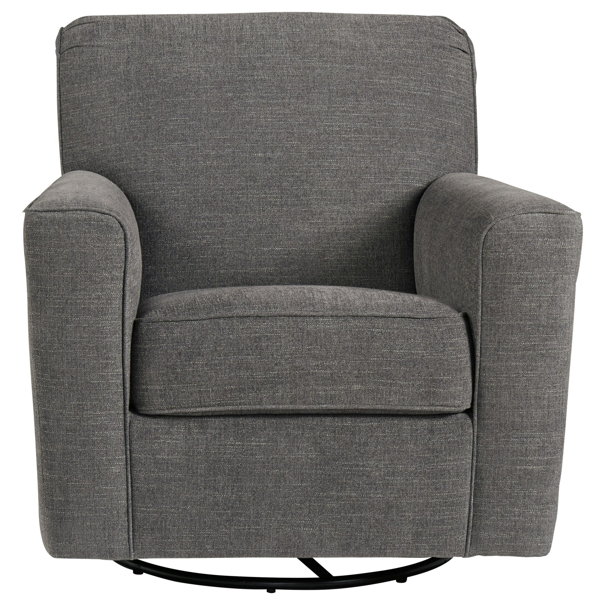 Ashley Furniture Alcona 9831042 Swivel Glider Accent Chair With Regard To Swivel Sofa Chairs (View 12 of 15)