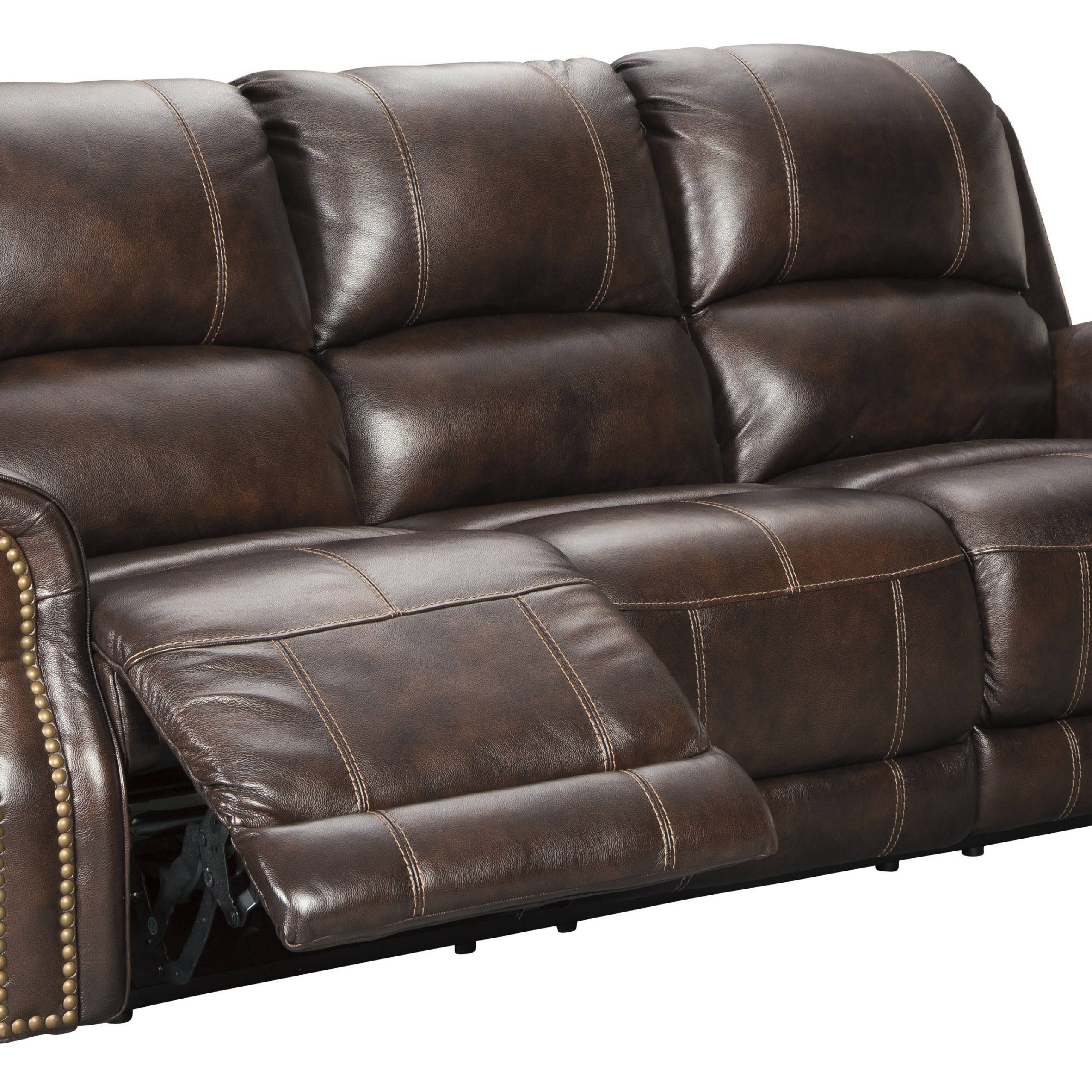 Ashley Furniture Buncrana Power Reclining Sofa With For Raven Power Reclining Sofas (View 7 of 15)