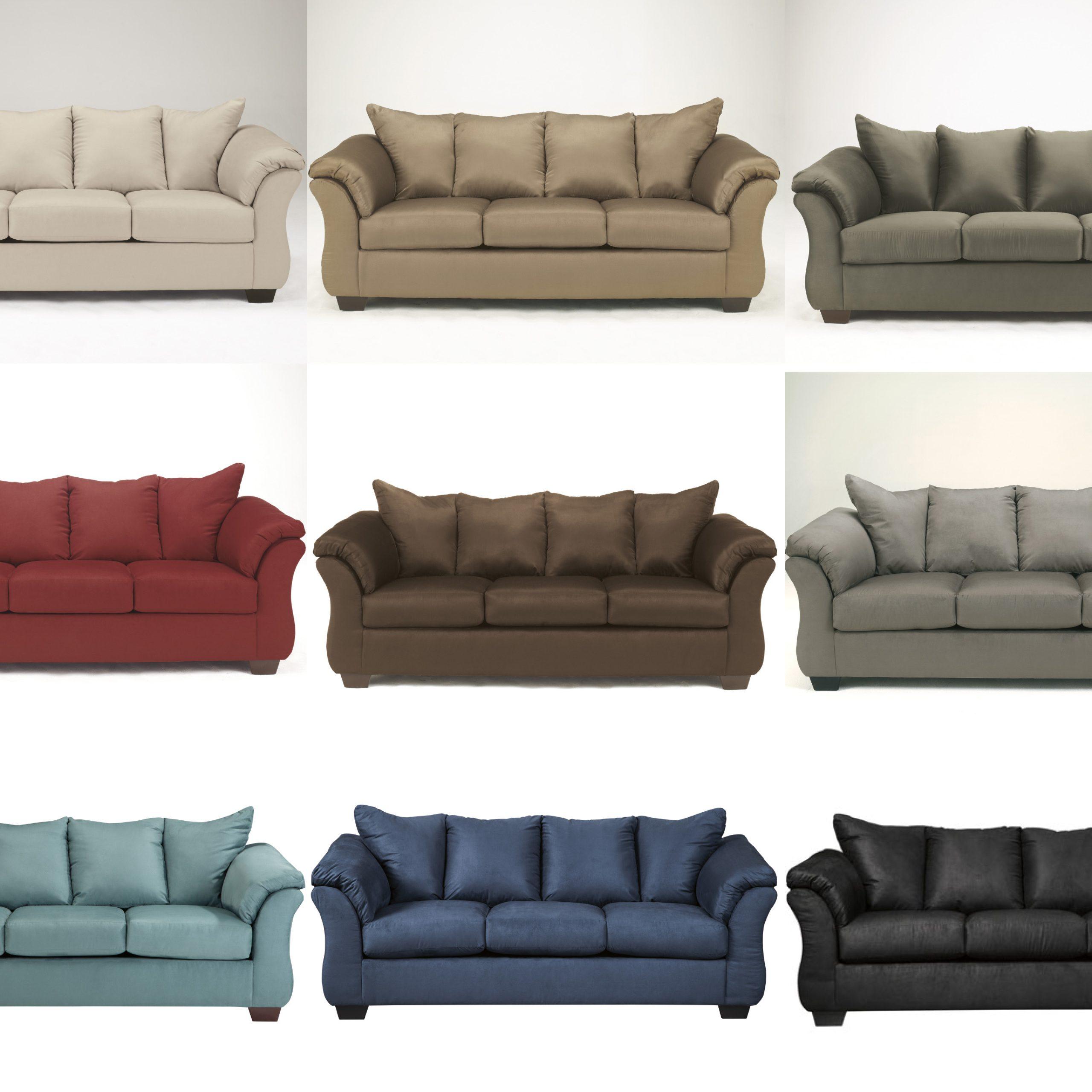 Ashley Signature Darcy Sleeper Sofa Regarding Felton Modern Style Pullout Sleeper Sofas Black (View 5 of 15)