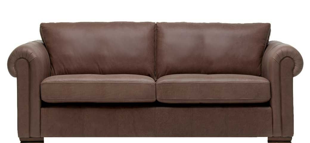 Aspen 3 Seater Leather Sofa | 3 Seater Leather Sofa With Regard To Aspen Leather Sofas (View 6 of 15)