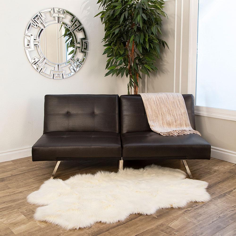 Aspen Leather Convertible Sofa  Futon  Convertible Sofa Throughout Aspen Leather Sofas (View 12 of 15)