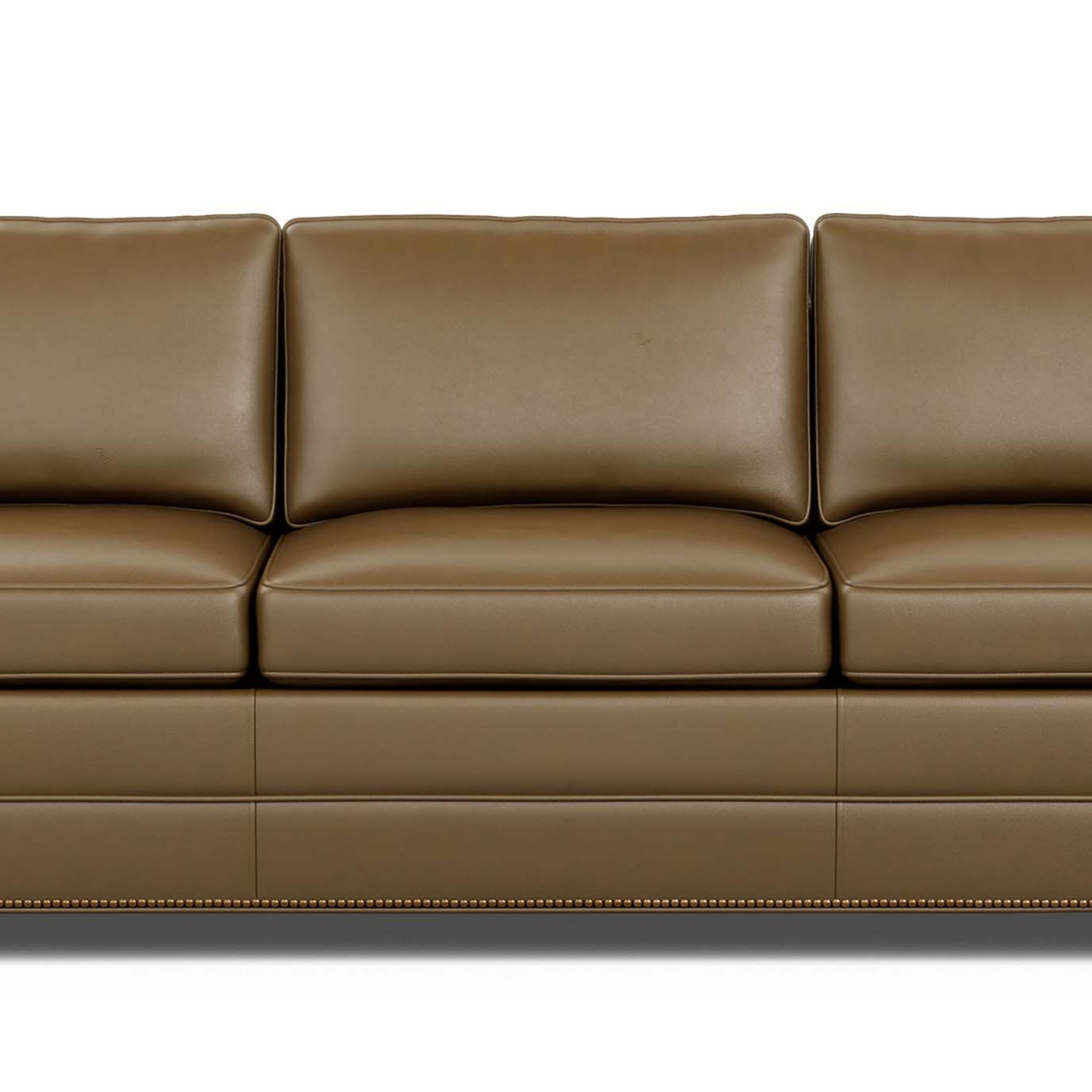 Astor Leather Sofa | Ethan Allen With Regard To Ethan Allen Sofas And Chairs (View 8 of 15)