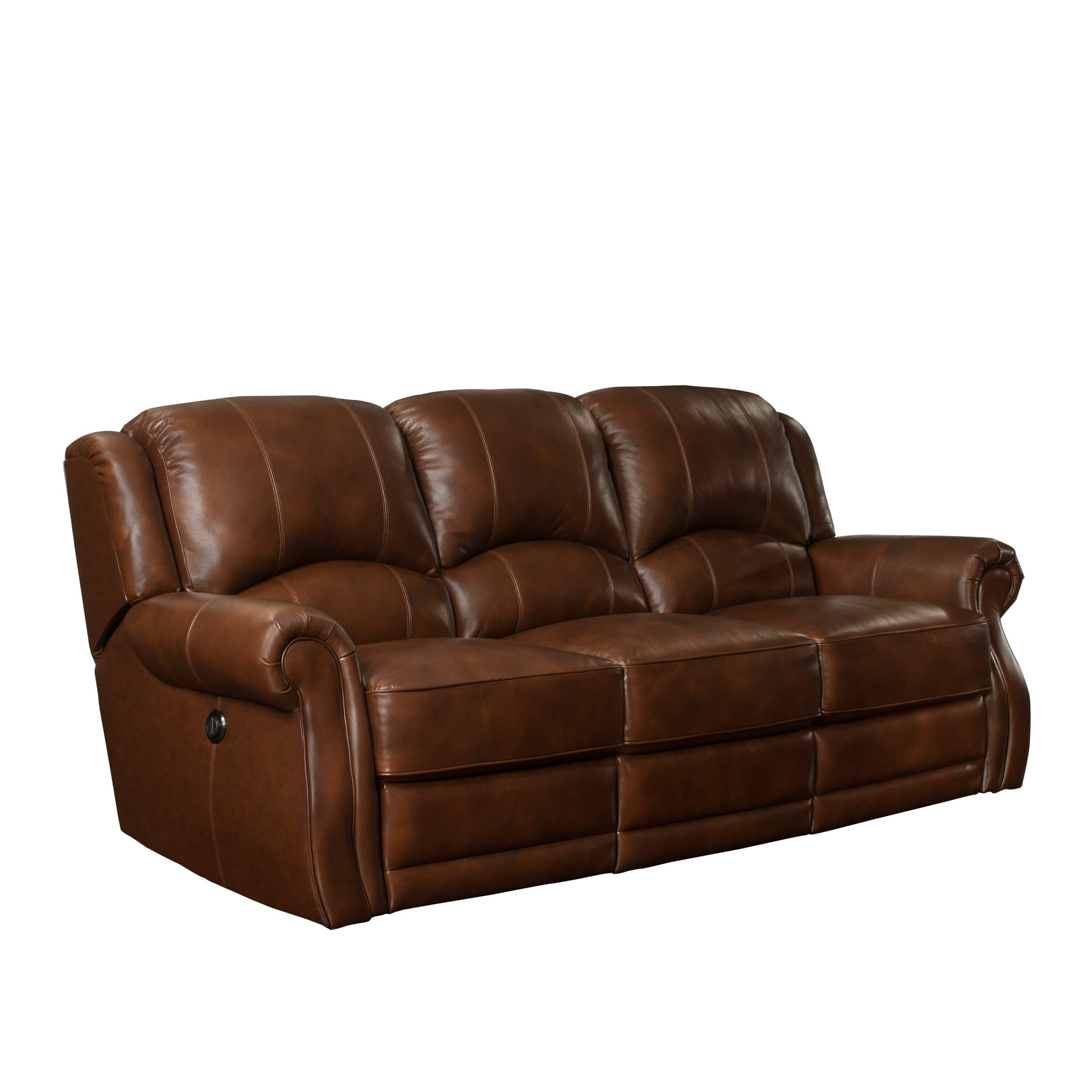 Barcalounger Cedar Hill Casual Comforts Power Leather For Charleston Power Reclining Sofas (View 15 of 15)