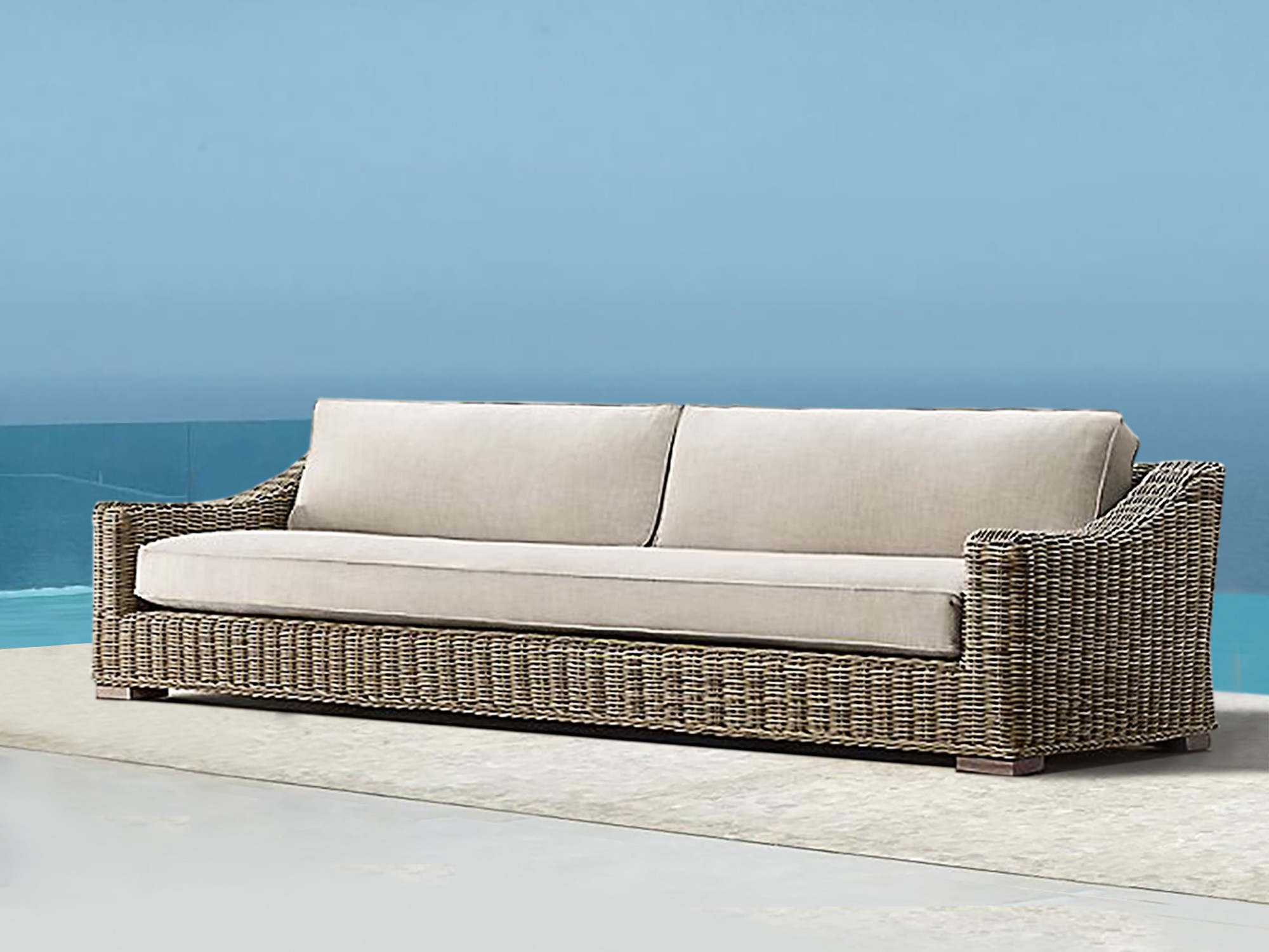 Barcelona Luxury Bespoke Outdoor Large Sofa   Hadley Rose Intended For Fancy Sofas (View 14 of 15)