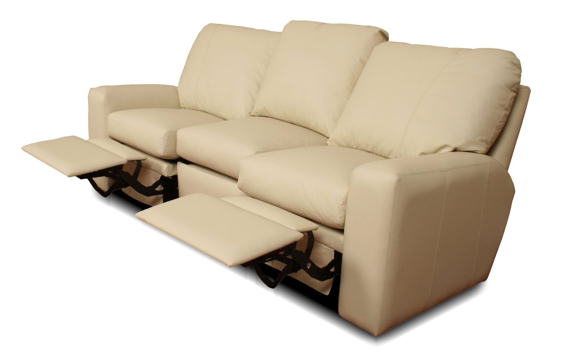 Benz – Reclining Leather Sofa • Leather Creations For Customized Sofas (View 8 of 15)