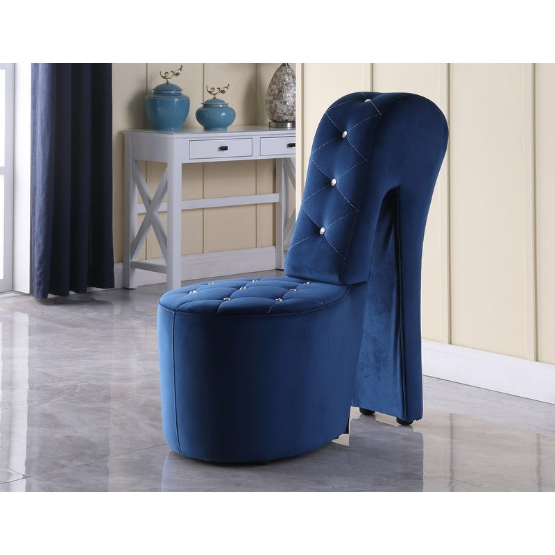 Best Master Furniture High Heel Leather Shoe Lounge Chair Pertaining To Heel Chair Sofas (View 9 of 15)