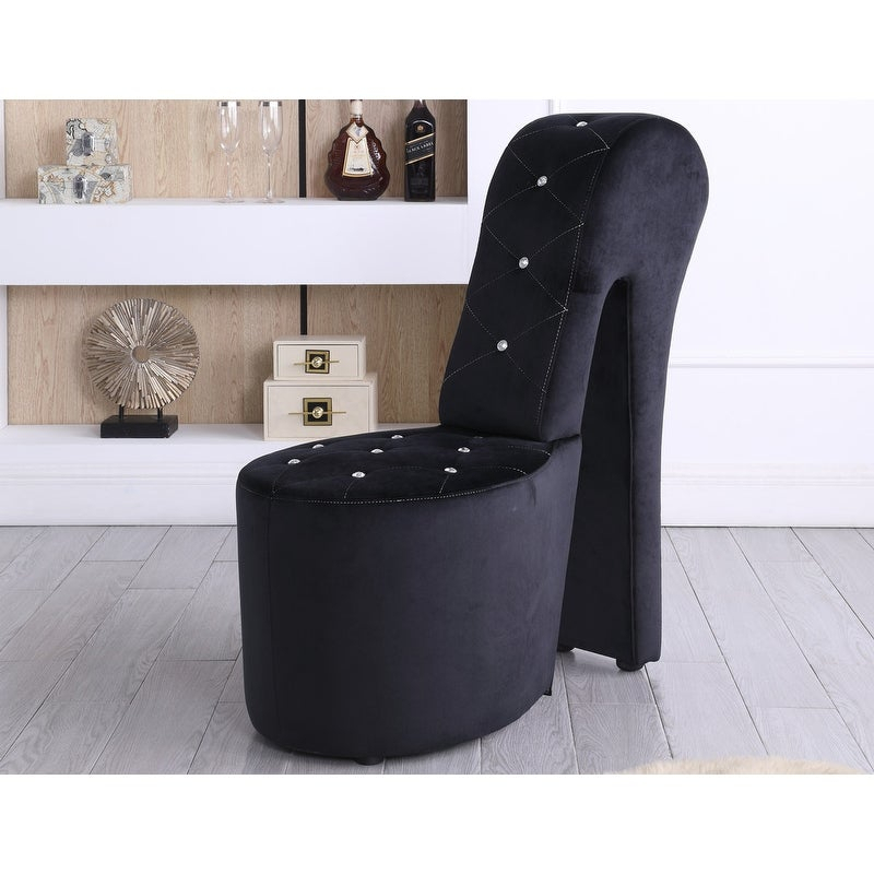Best Master Furniture High Heel Leather Shoe Lounge Chair Pertaining To Heel Chair Sofas (View 6 of 15)