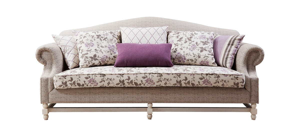 Bf8319 – Traditional French Country Sofa Within Country Sofas And Chairs (View 3 of 15)