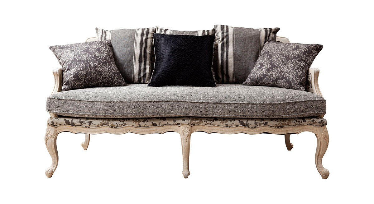 Bf8322 – Traditional French Country Sofa With Country Sofas And Chairs (View 4 of 15)