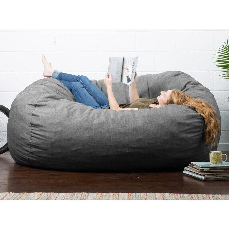 Big Joe Lux Extra Large Bean Bag Sofa – Bigbigmart Within Bean Bag Sofas And Chairs (View 14 of 15)