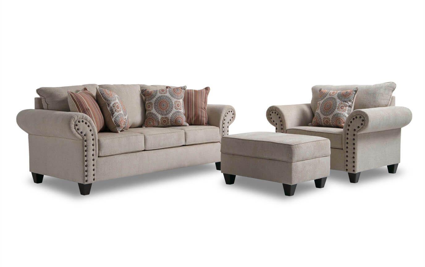 Bobs Furniture Artisan Blue – Home Improvement Ideas Throughout Artisan Blue Sofas (View 3 of 15)