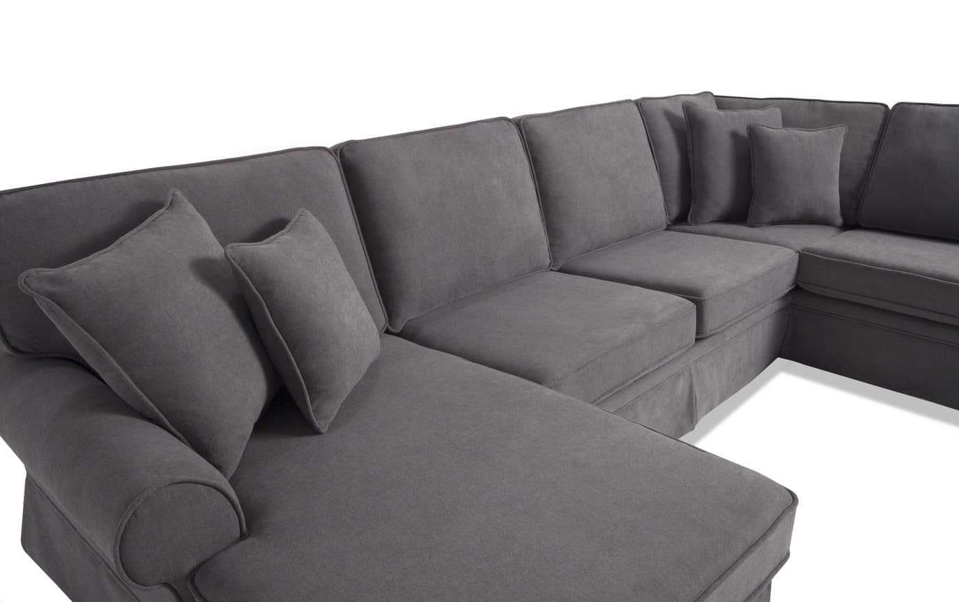 Bobs Sectional Sofa   Baci Living Room Pertaining To Pacifica Gray Power Reclining Sofas (View 4 of 15)