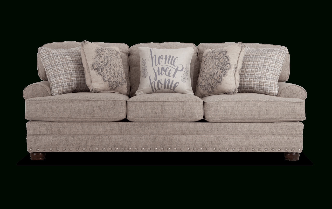 Bobs Sofa Greyson Sofa Living Room Makeover In 2019 Within Katie Charcoal Sofas (View 6 of 15)
